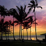 Coconut Island Sunset - Hawaii Art Print