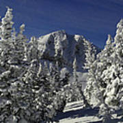 Cody Peak After A Snow Art Print