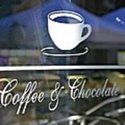 Coffee And Chocolate Art Print