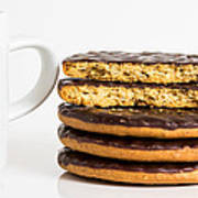 Coffee And Cookies. Art Print