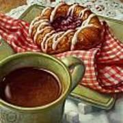 Coffee And Danish Art Print