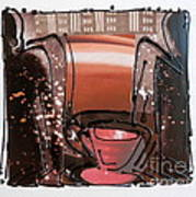 Coffee Corner Art Print