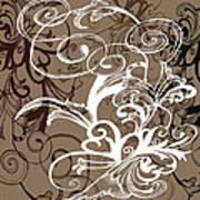 Coffee Flowers 1 Art Print