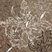 Coffee Flowers 11 Art Print