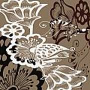 Coffee Flowers 9 Art Print