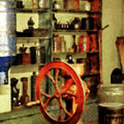 Coffee Grinder And Canister Of Sugar Art Print