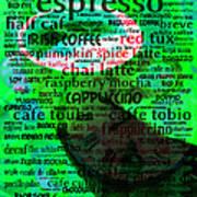Coffee Lovers Diary 5d24472p108 Art Print
