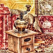 Coffee Mill Art Print