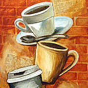 Coffee Over Shannara Art Print