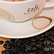 Coffee Rush Art Print