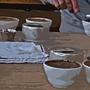 Coffee Tasting Art Print