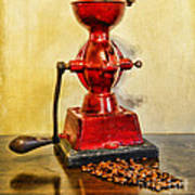 Coffee The Morning Grind Art Print