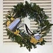 Coffee Wreath Art Print