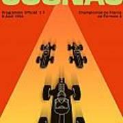 Cognac France F3 Grand Prix 1964 Art Print