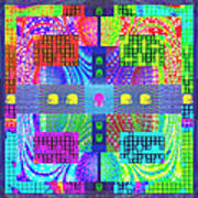Cognitive Quilt Art Print