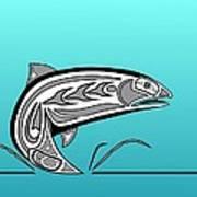 Coho Salmon Art Print