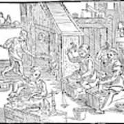 Coiners, 1577 Art Print
