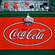 Coke Cooler Art Print