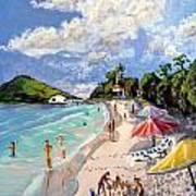 Coki Beach Art Print
