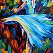 Cold Ballet Art Print