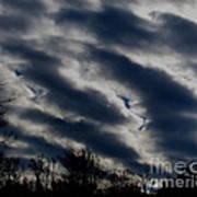 Cold Cloudscape Art Print