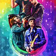 Coldplay Mylo Xyloto Art Print