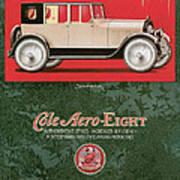 Cole Aero Eight Vintage Poster Art Print