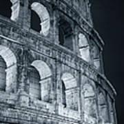 Colosseum Before Dawn Art Print