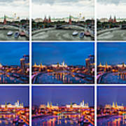 Collage - Kremlin View - Featured 3 Art Print