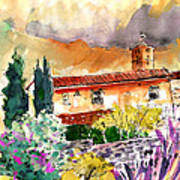 Colle D Val D Elsa In Italy 03 Art Print