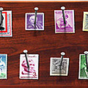Collector - Stamp Collector - My Stamp Collection Art Print