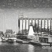Collingwood Terminals In Old Days Art Print
