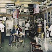 Collins Pharmacy, 1900 Art Print