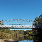 Collinsville Steel Bridge 1 Art Print