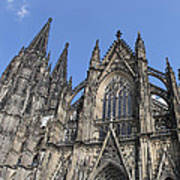 Cologne Cathedral South Side Rooflines Art Print