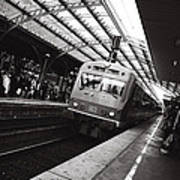Cologne Trainstation Print by Jimmy Karlsson