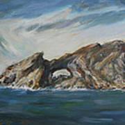 Colombretes Island II Art Print