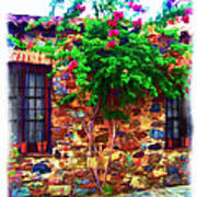 Colonia Del Sacramento Window Art Print