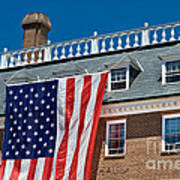 Colonial Building  Art Print