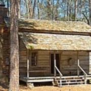 Colonial Cabin Art Print