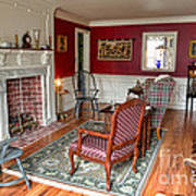 Colonial Parlor Art Print by Olivier Le Queinec
