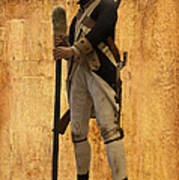 Colonial Soldier Art Print by Thomas Woolworth