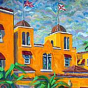 Colony Hotel at Delray Art Print