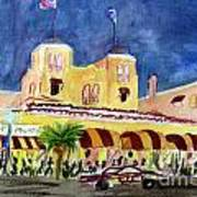 Colony Hotel In Delray Beach Art Print