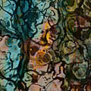 Color Abstraction Xvi Print by David Gordon