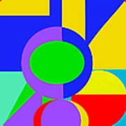 Color And Shape Series #1 Art Print