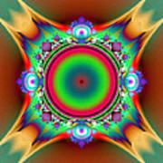 Color Cross Art Print