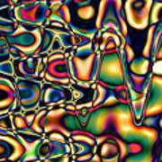 Color Cycles Art Print