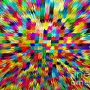 Color Explosion I Art Print