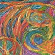 Color Fingers Art Print